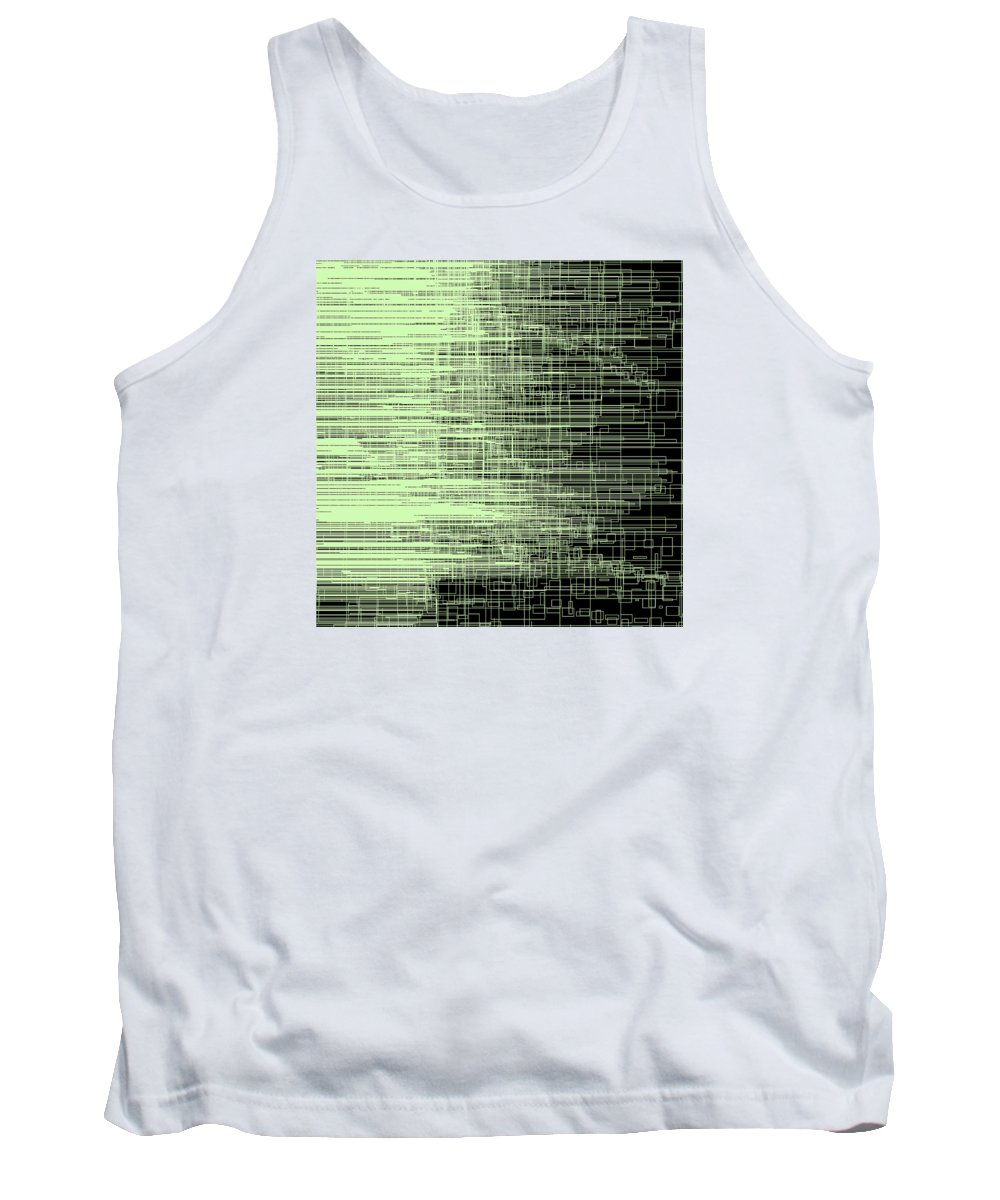 Abstract Tank Top featuring the digital art S.2.45 by Gareth Lewis