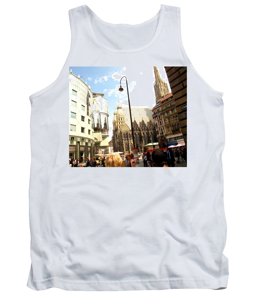 St Tank Top featuring the photograph Saint Stephen by Ian MacDonald