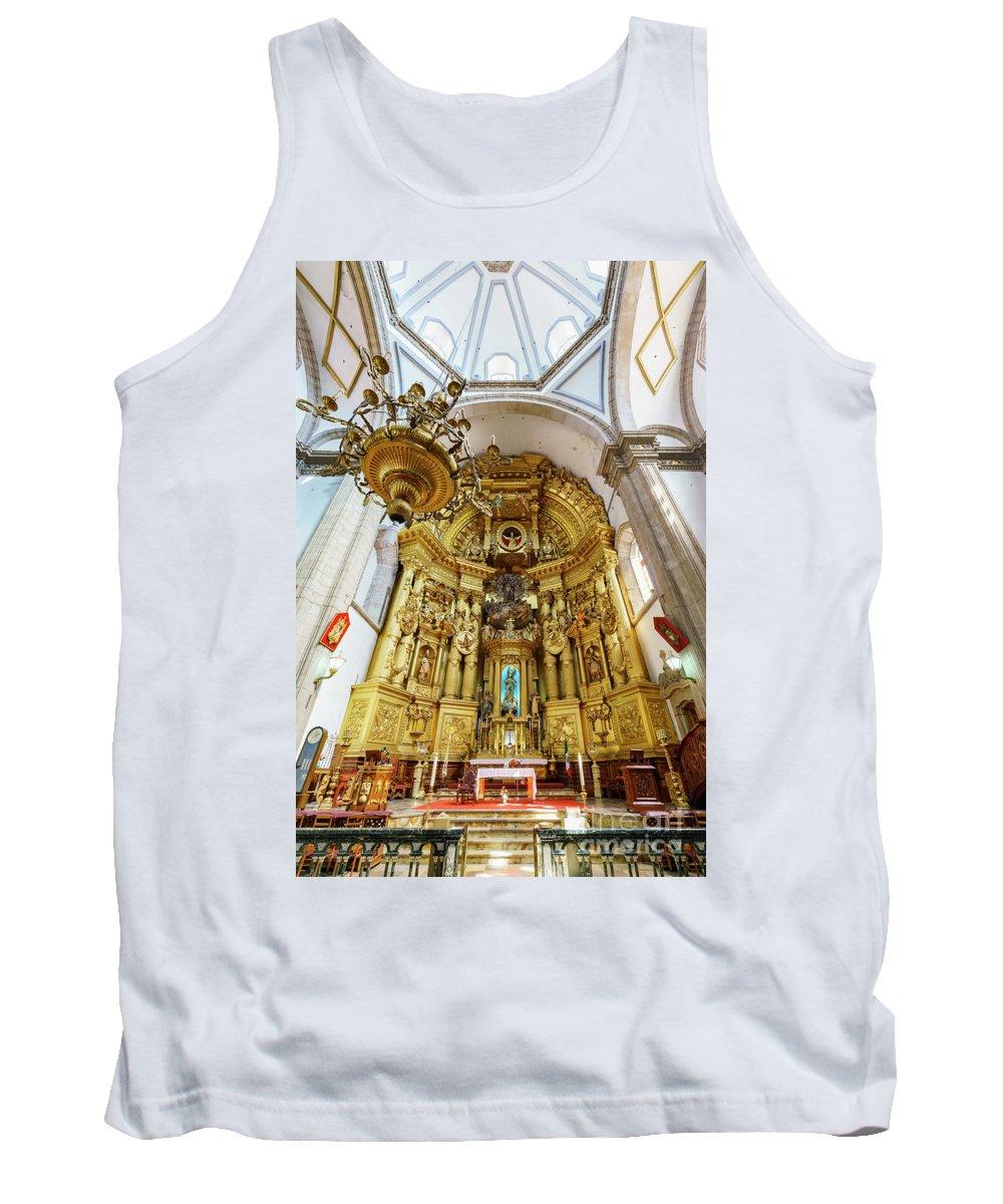 Mexico City Tank Top featuring the photograph San Felipe De Jesus Satelite by Chon Kit Leong
