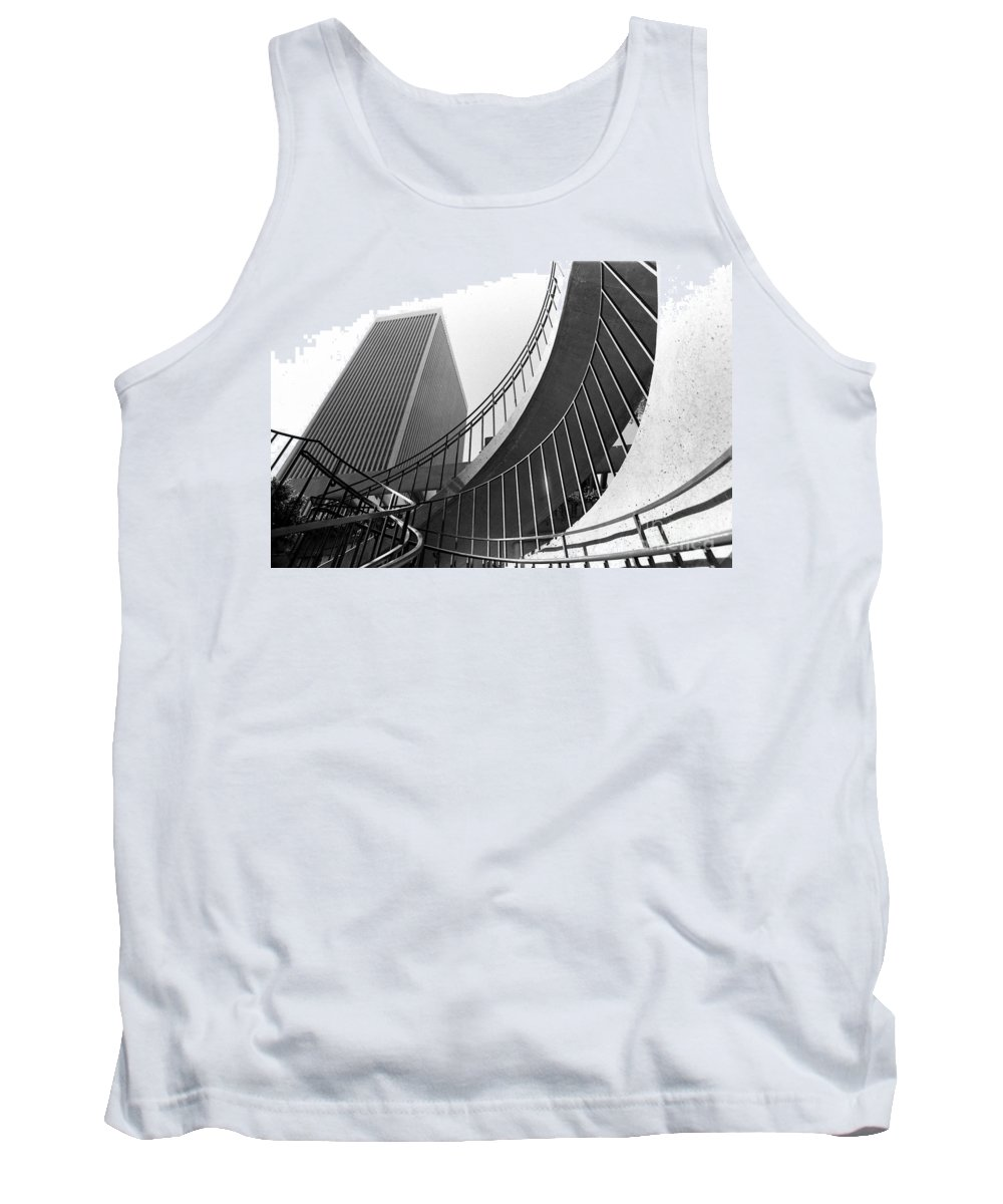 San Francisco Scenes Tank Top featuring the photograph San Francisco Embarcadero Center by Norman Andrus