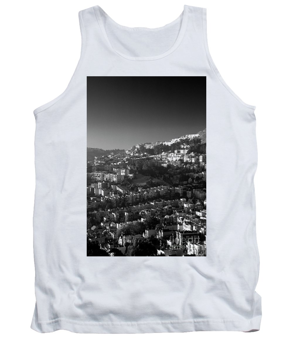 Travel Tank Top featuring the photograph San Francisco Neighborhood by Jim Corwin