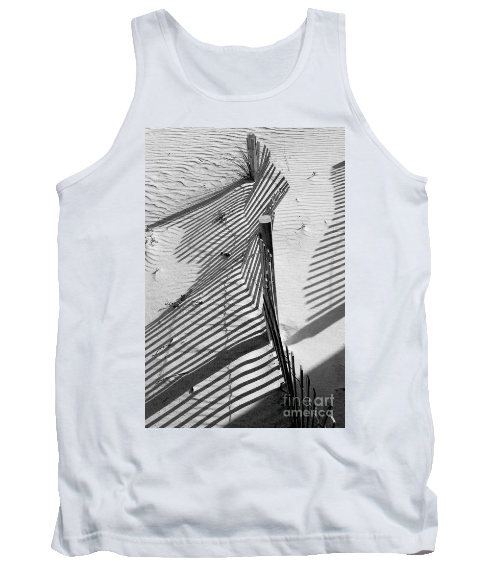 Beach Tank Top featuring the photograph Sand And Sun by Robert Meanor