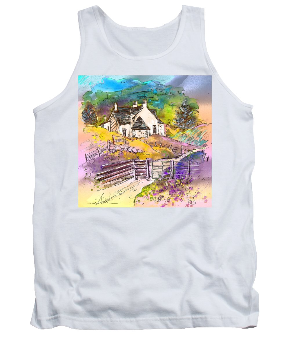Scotland Paintings Tank Top featuring the painting Scotland 16 by Miki De Goodaboom