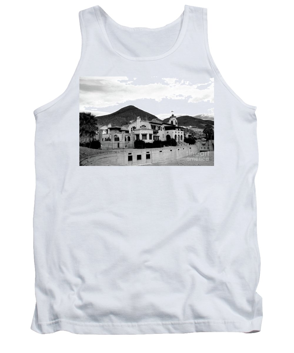 #scotty's Tank Top featuring the photograph Scotty's Castle II by Kathleen Struckle