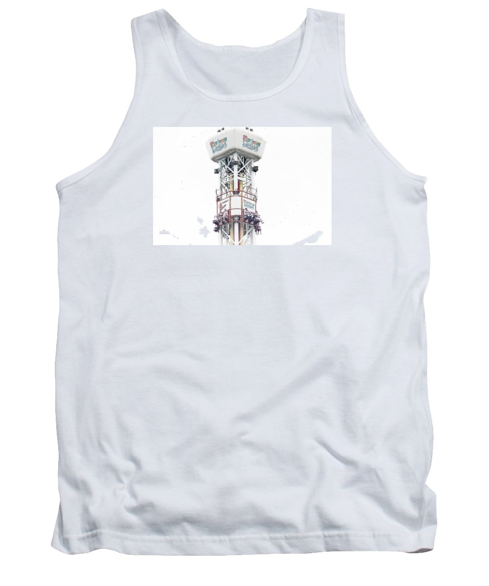 Ride Tank Top featuring the photograph Scream by Catherine Melvin