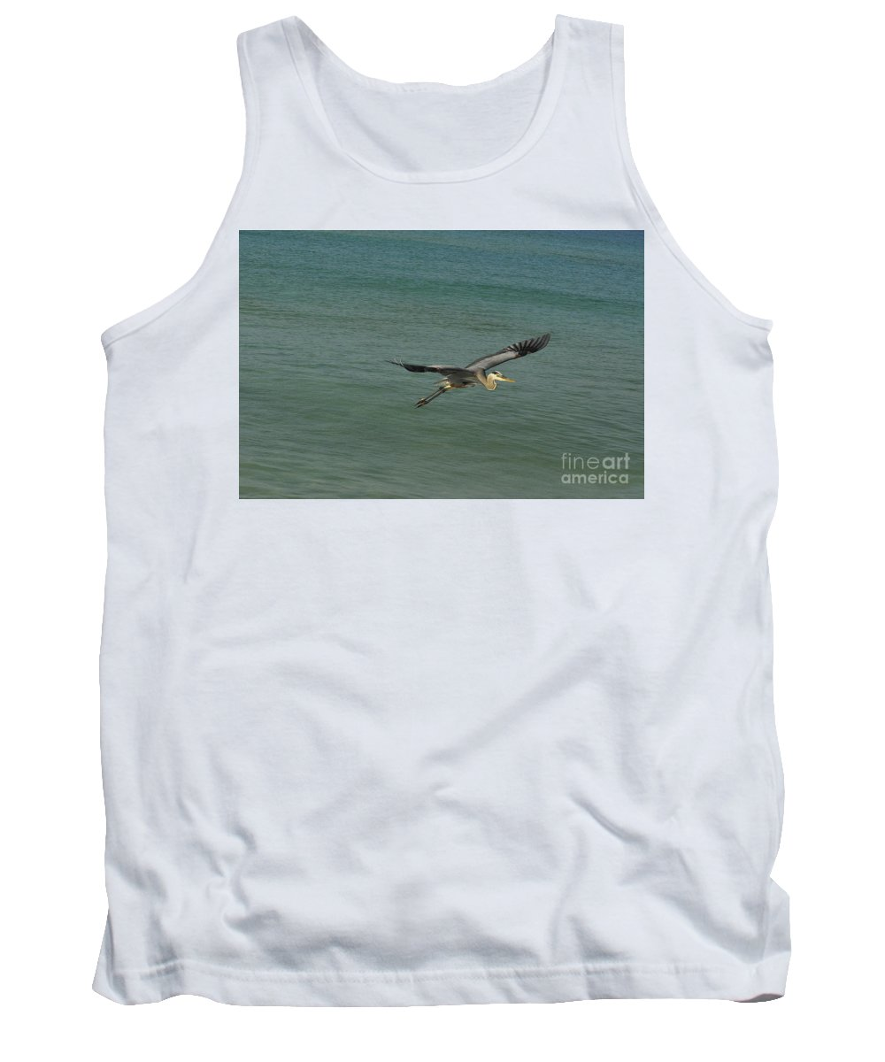 Bird Tank Top featuring the photograph Sea Plane by Vicky Tubb