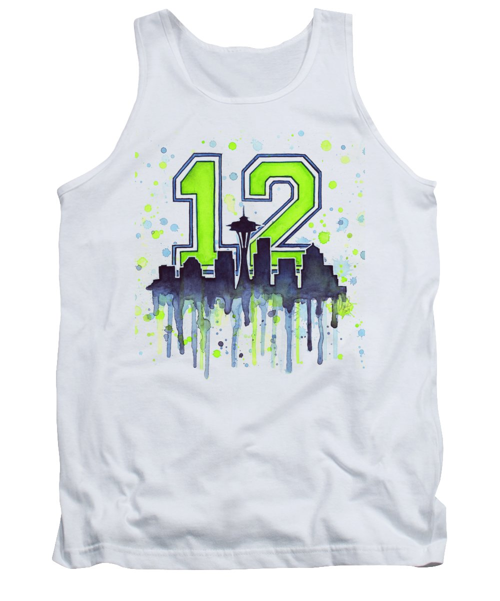 Sports Paintings Tank Tops
