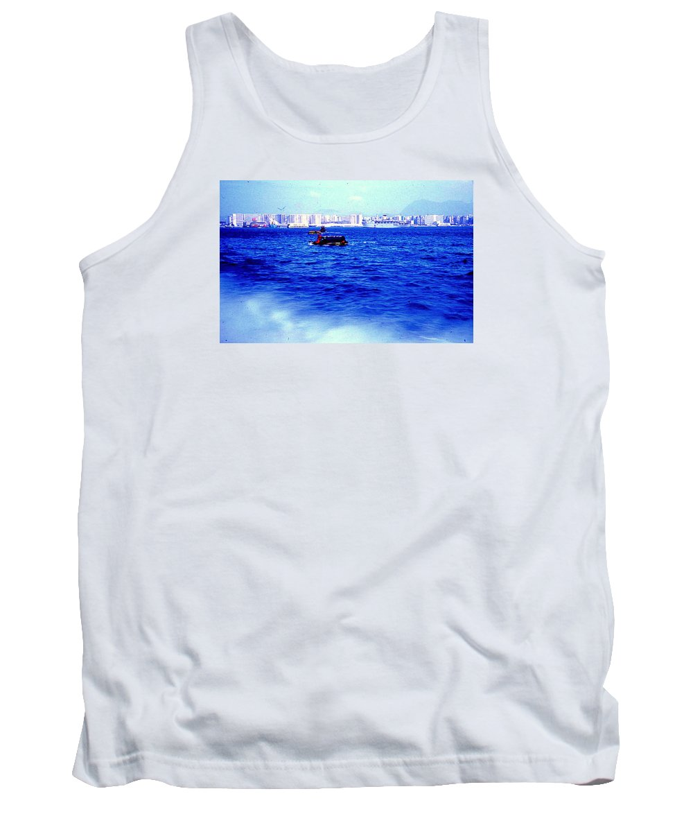 Ships Tank Top featuring the photograph Seattle Shoreline by Maro Kentros