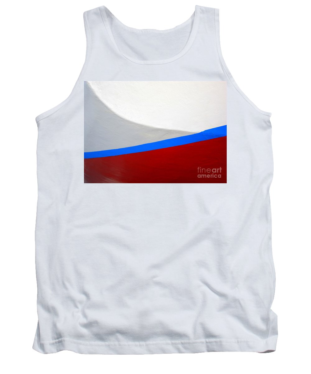 Boat Tank Top featuring the photograph Seaworthy by Carol Groenen