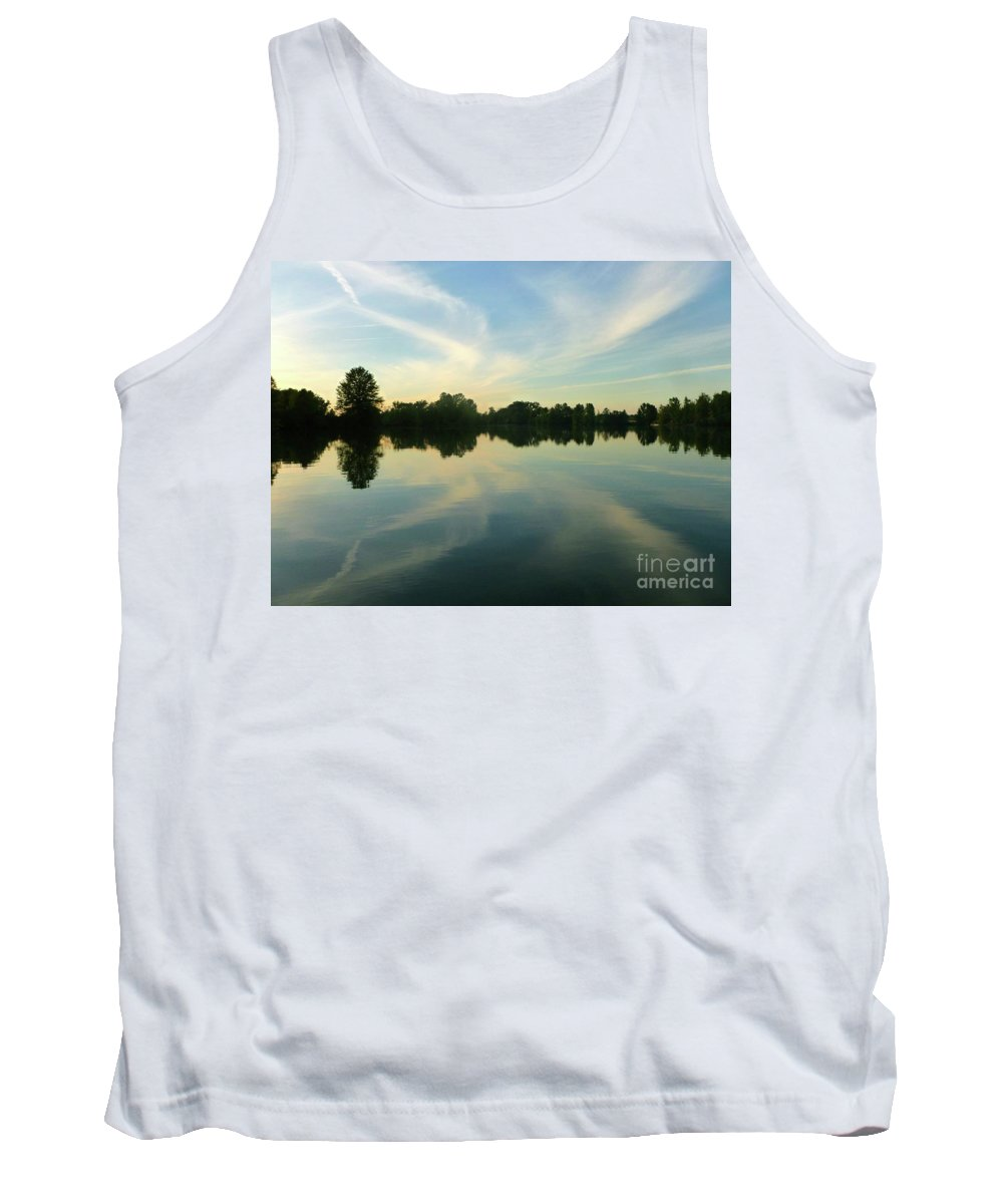 Landscape Tank Top featuring the photograph Secret Oasis by Bibi Robers