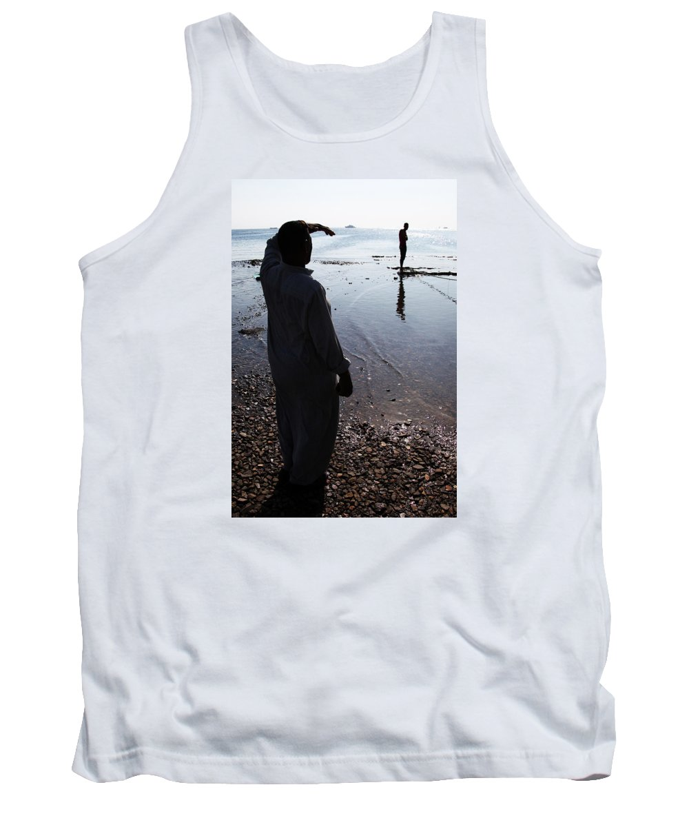 Hurghada Tank Top featuring the photograph Separate Yet Lives Together by Jez C Self