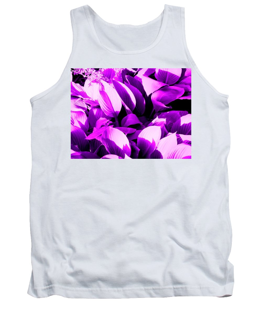 Leaves Tank Top featuring the photograph Shades by Ian MacDonald