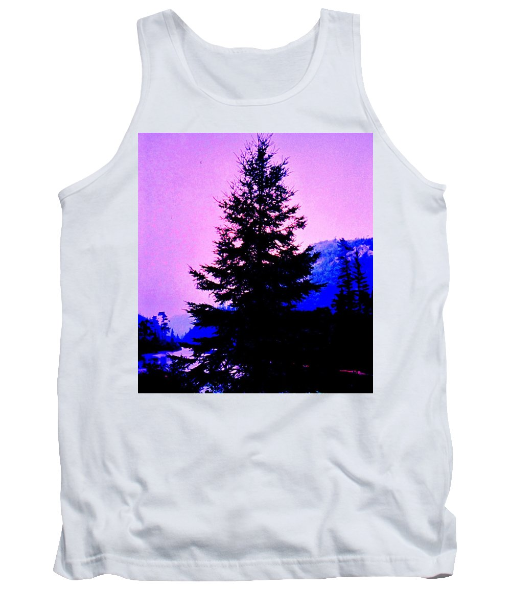 Agawa Tank Top featuring the photograph Shadows In The Canyon by Ian MacDonald