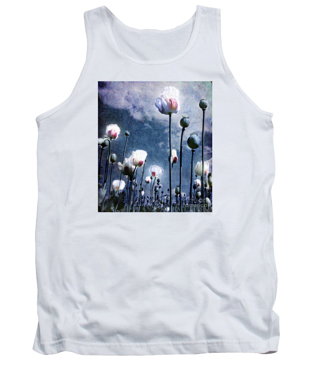 Flowers Tank Top featuring the photograph Shine Through by Jacky Gerritsen