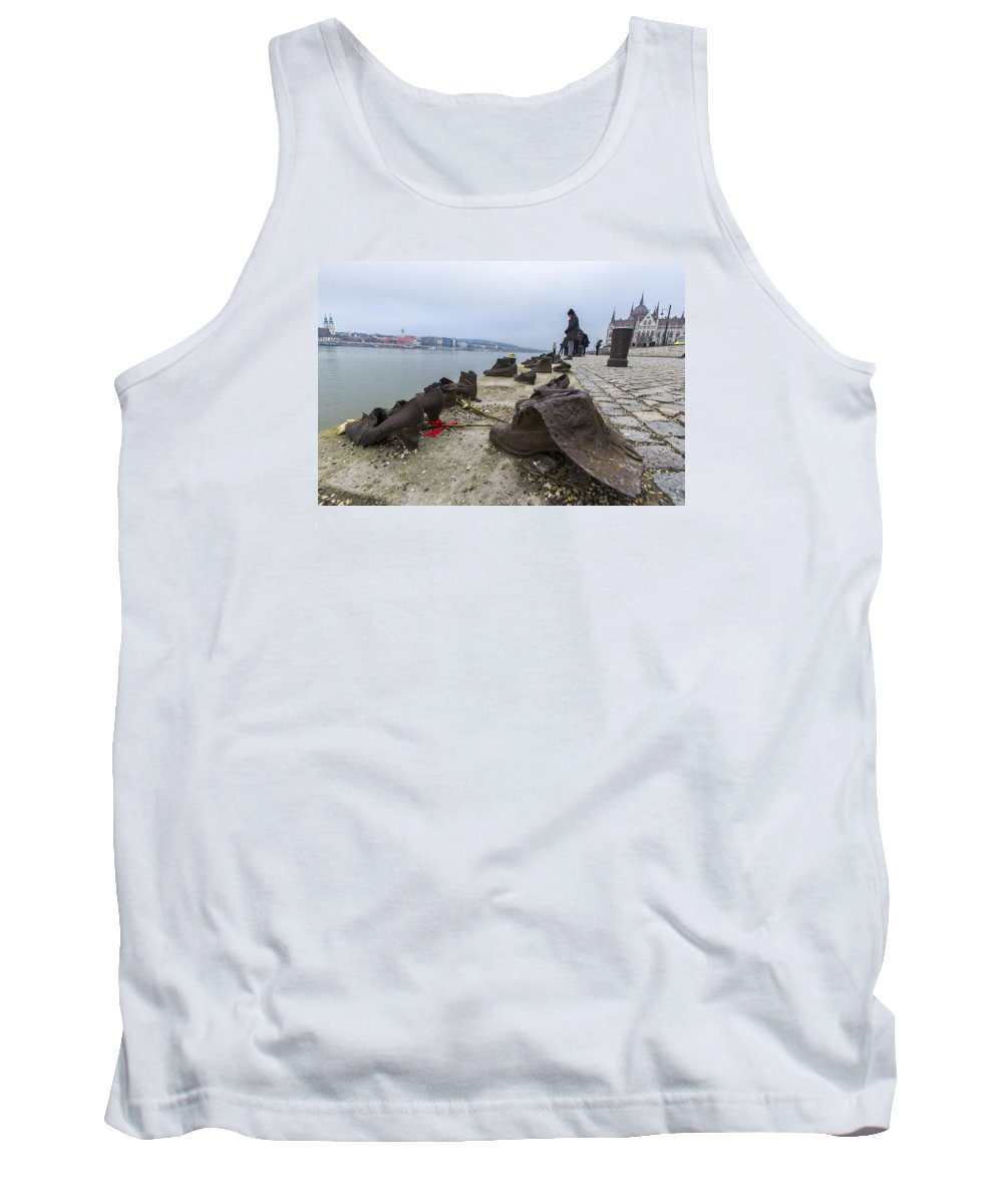Shoes Tank Top featuring the photograph Shoes by Shay Weiss
