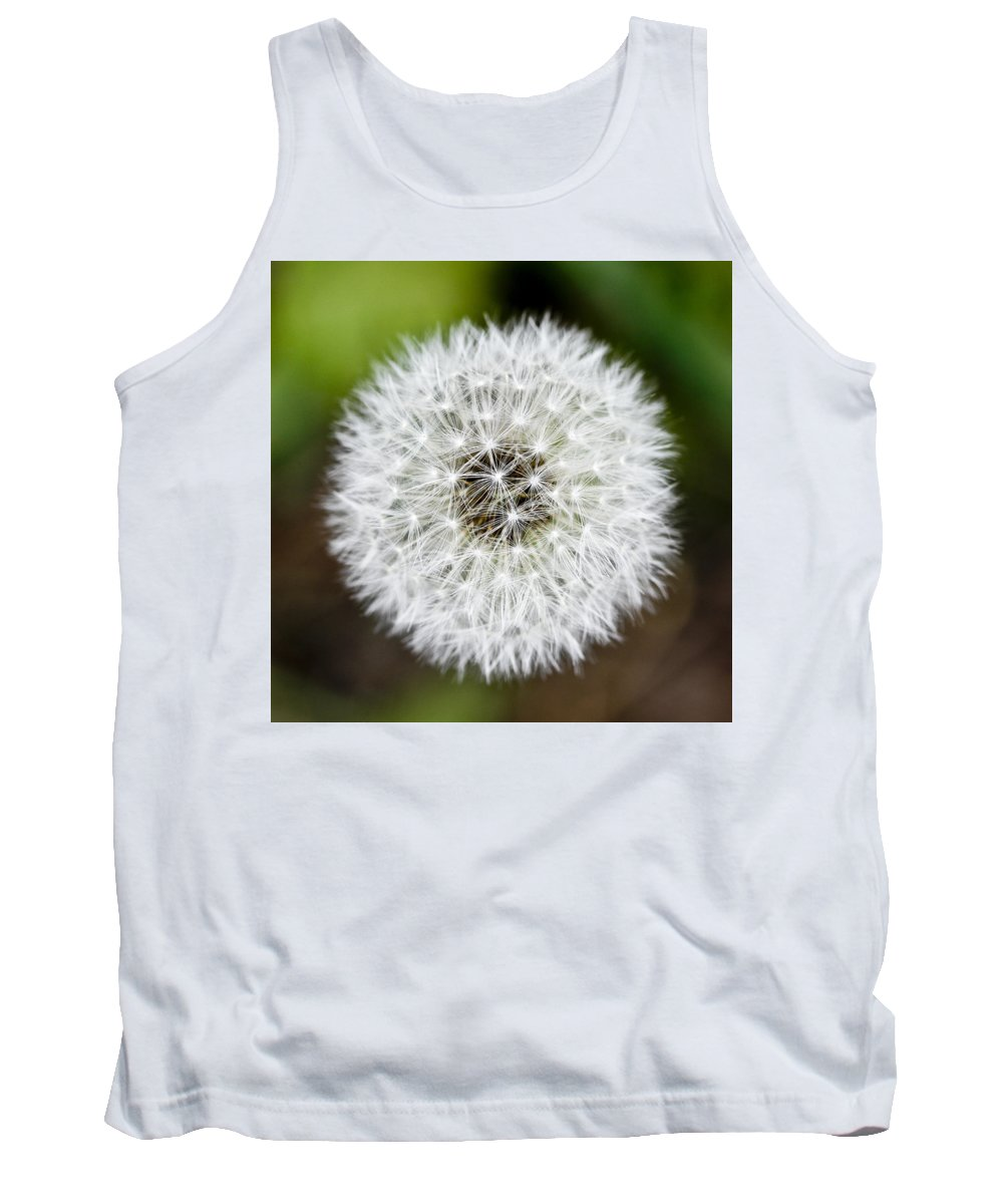 Flower Tank Top featuring the photograph Simplicity by Marilyn Hunt