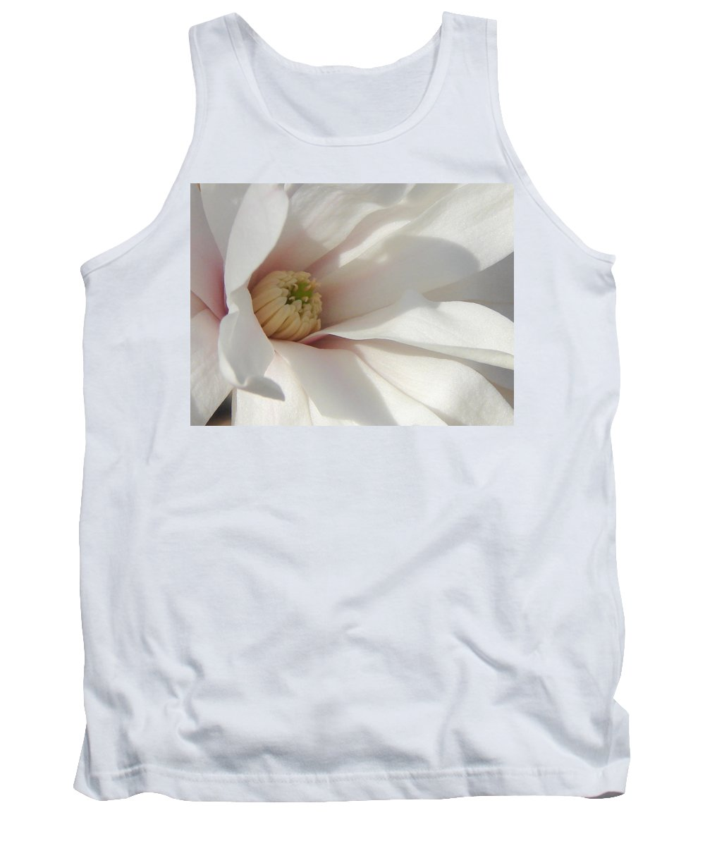 Tank Top featuring the photograph Simply White by Luciana Seymour