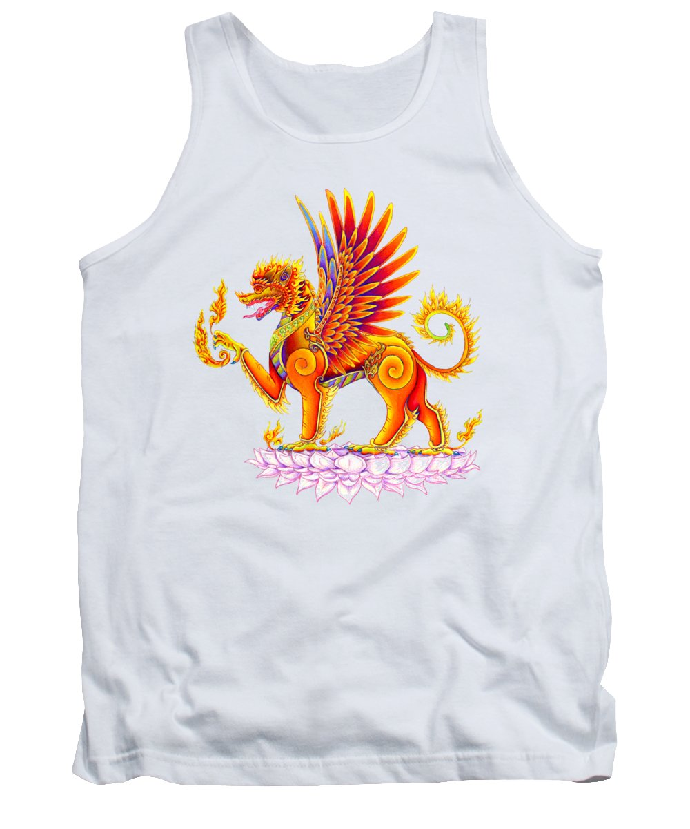 Winged Lion Tank Tops