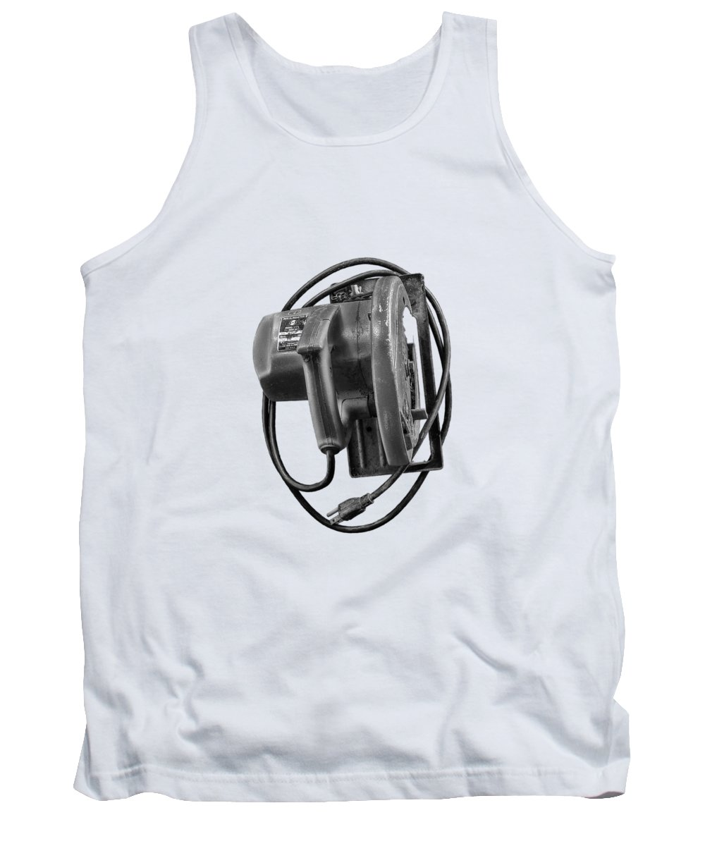 Antique Tank Top featuring the photograph Skilsaw Top by YoPedro