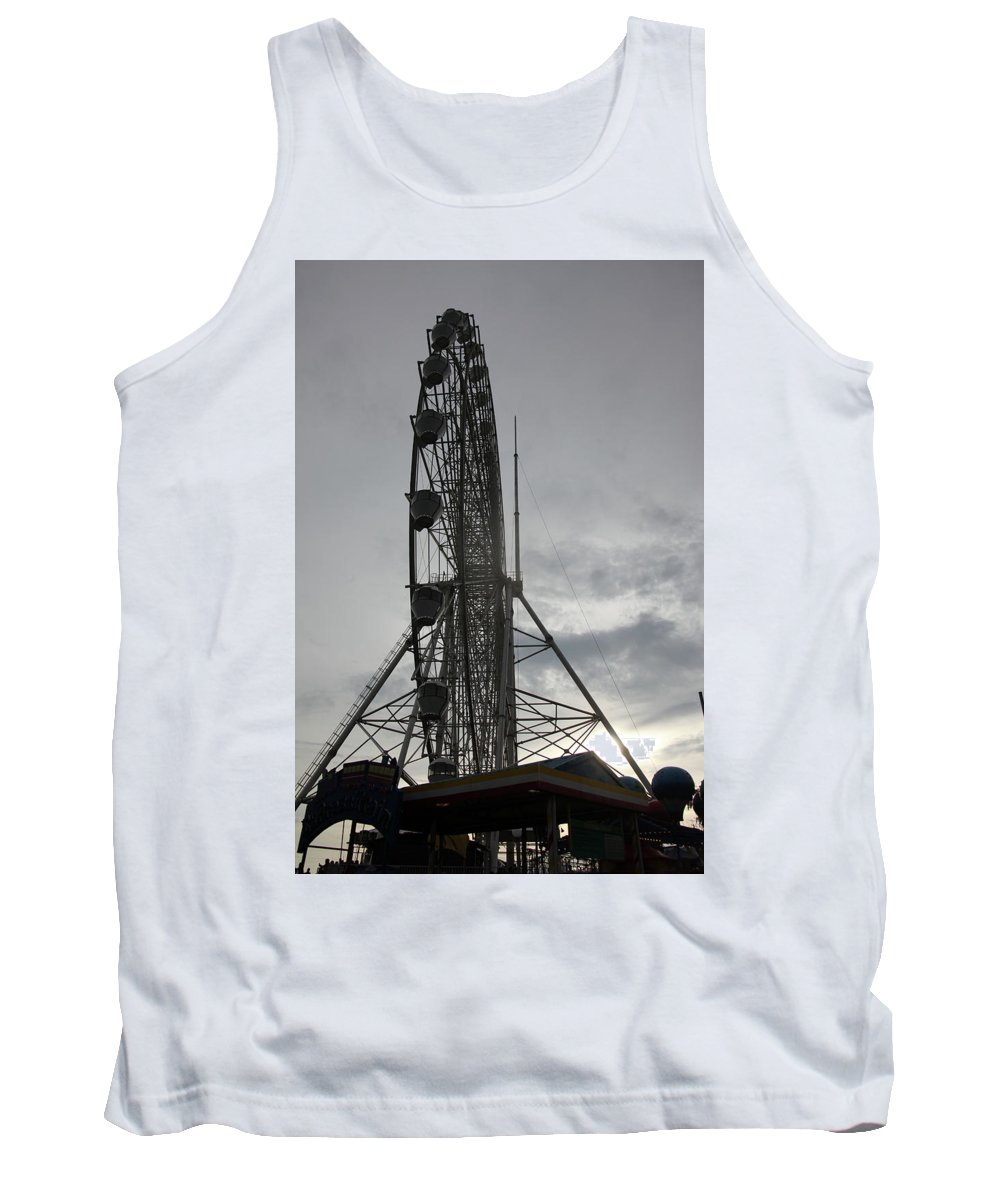 Cavite Tank Top featuring the photograph Sky Ranched by Jez C Self
