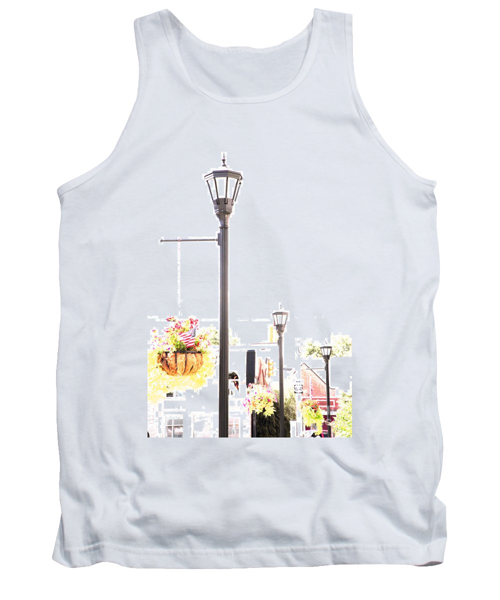 Small Town Tank Top featuring the photograph Small Town by Amanda Barcon