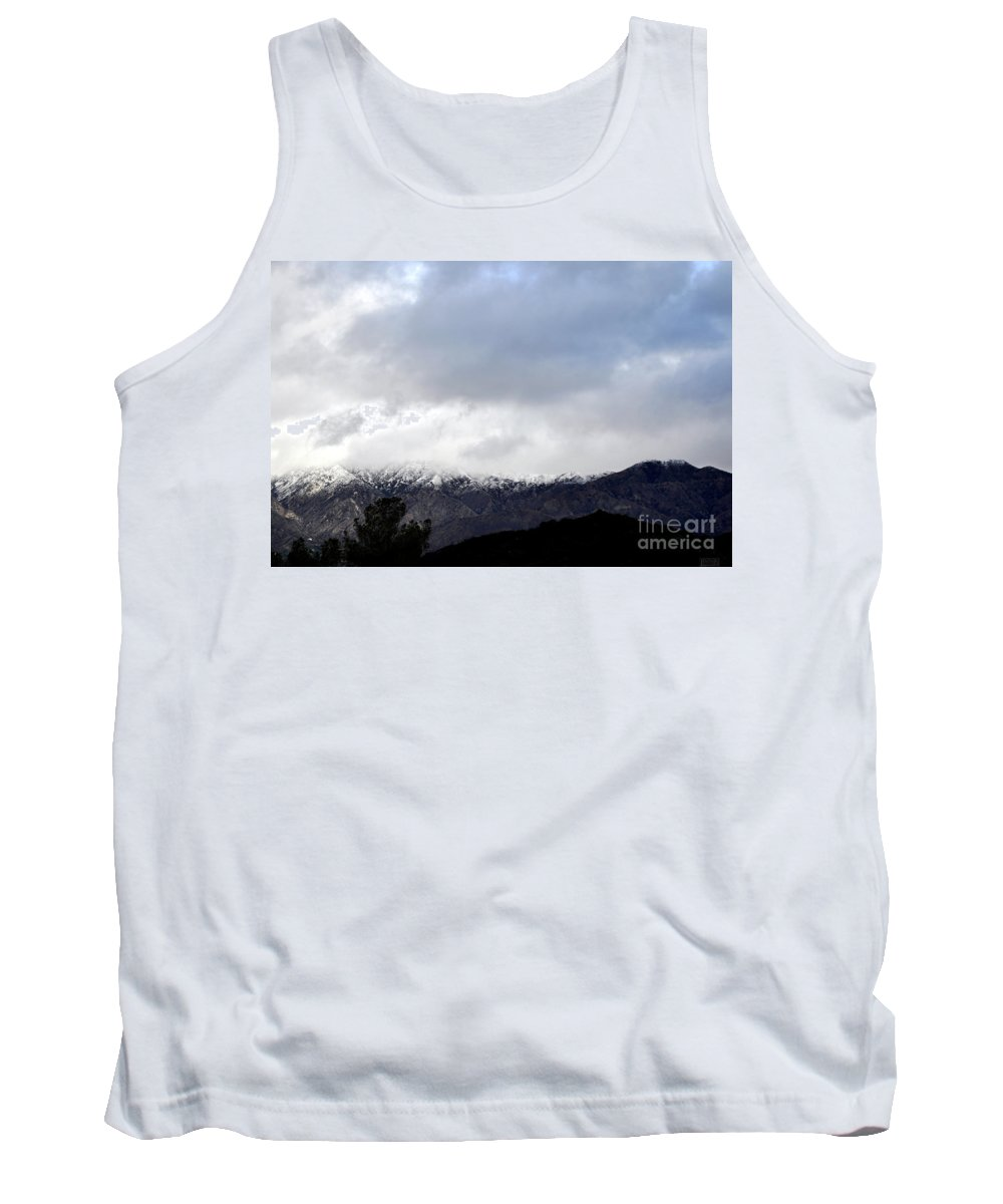 Clay Tank Top featuring the photograph Snow Line by Clayton Bruster