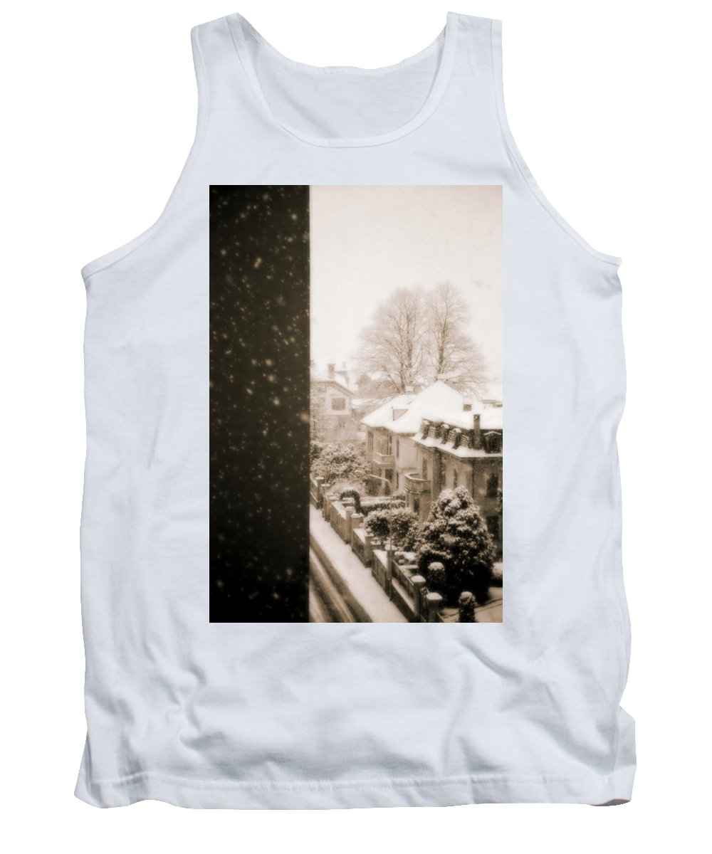 Snow Tank Top featuring the photograph Snowy Afternoon by Silvia Ganora