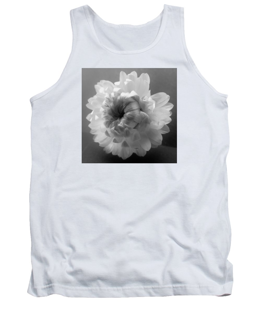Black Tank Top featuring the photograph Softly Romantic by Barbara St Jean