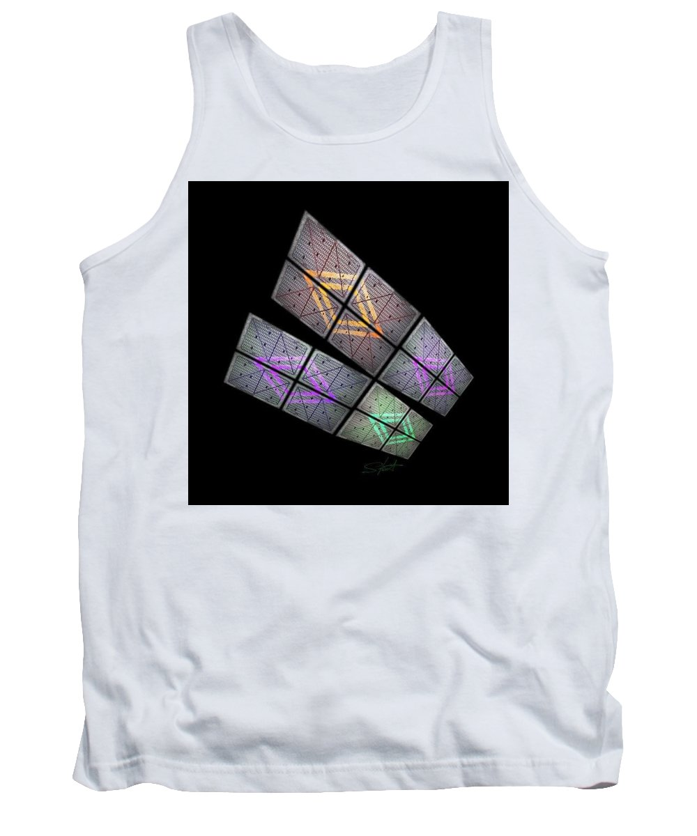 Wings Tank Top featuring the photograph Solar Wings by Charles Stuart