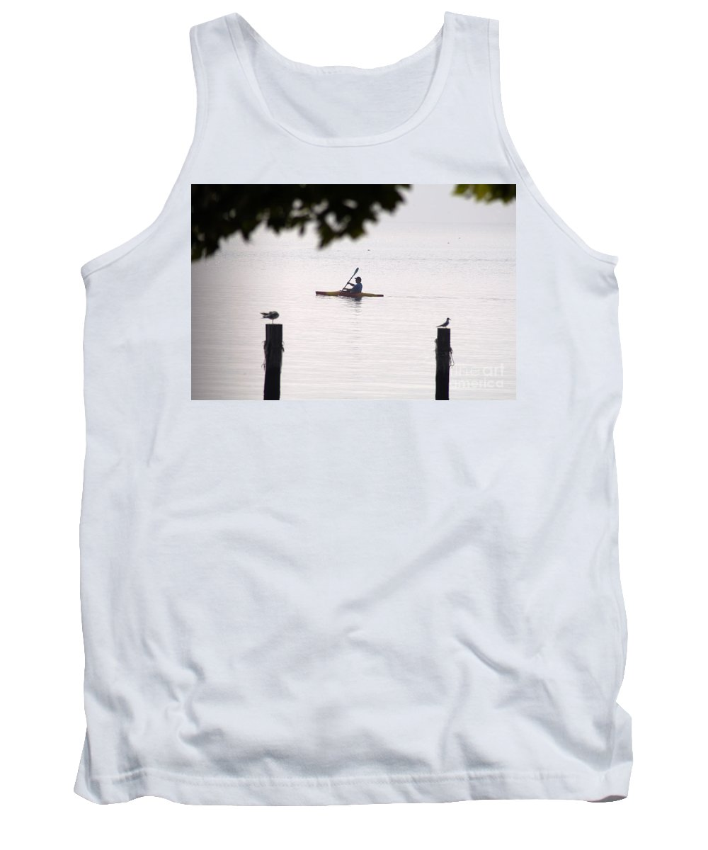 Clay Tank Top featuring the photograph Solitude by Clayton Bruster