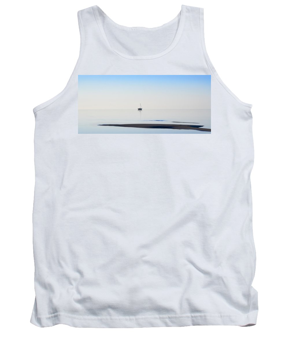 Water Tank Top featuring the photograph Solitude by Kelley King