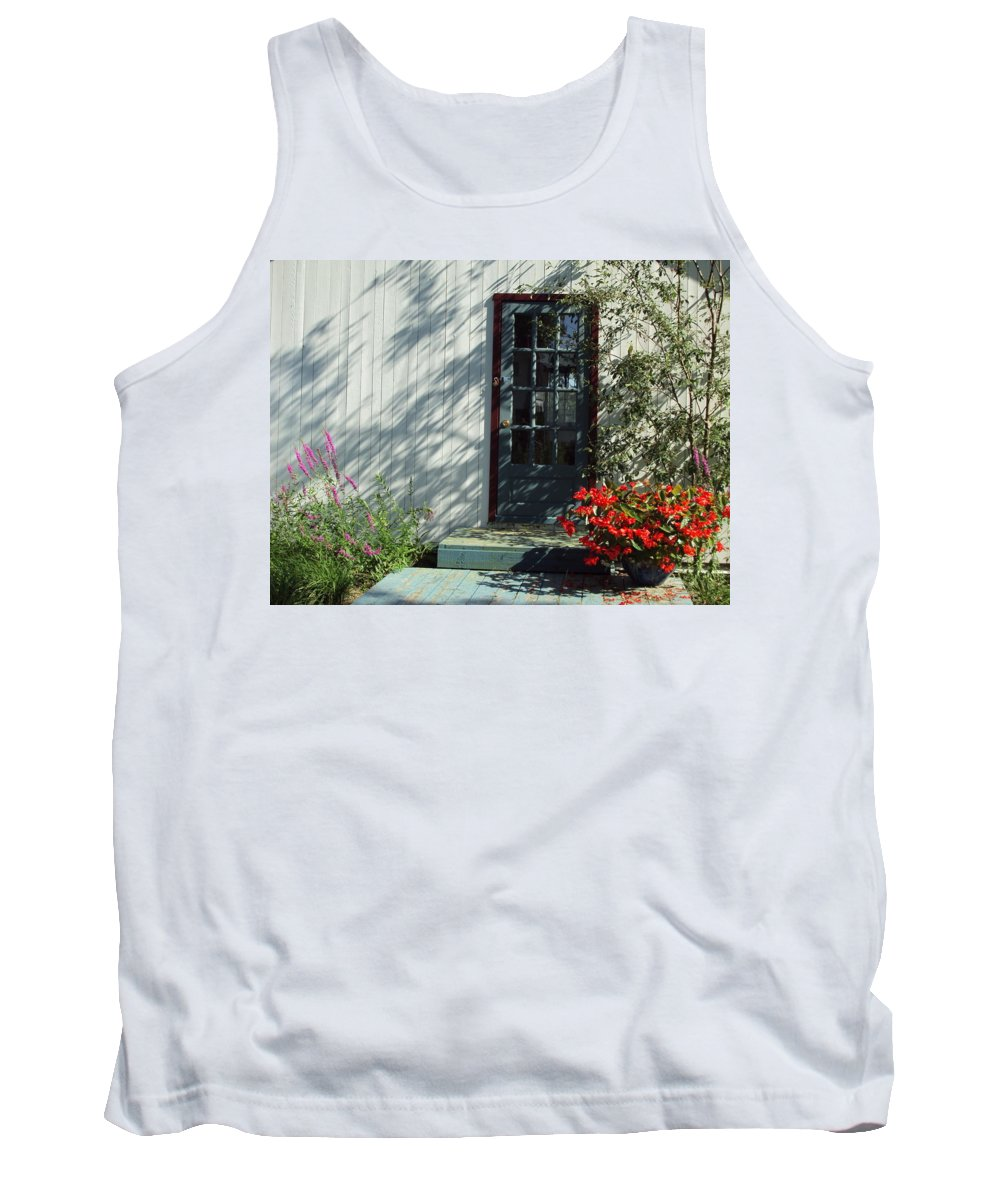 Tank Top featuring the photograph Somewhere At St Louis Village by Line Gagne