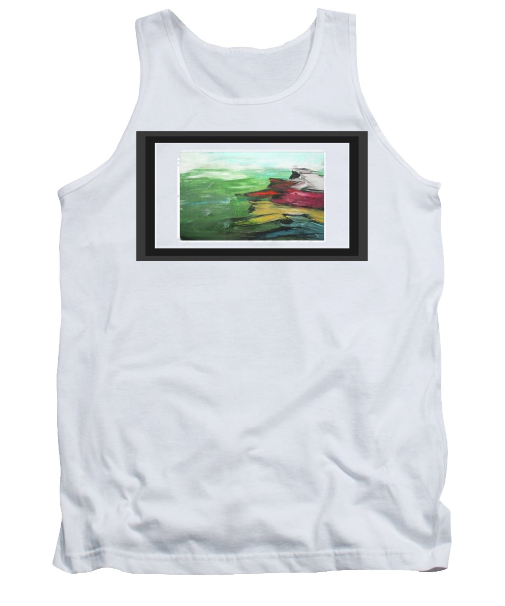 Creation With Fun Tank Top featuring the painting Speed by ROhit Ramanuj
