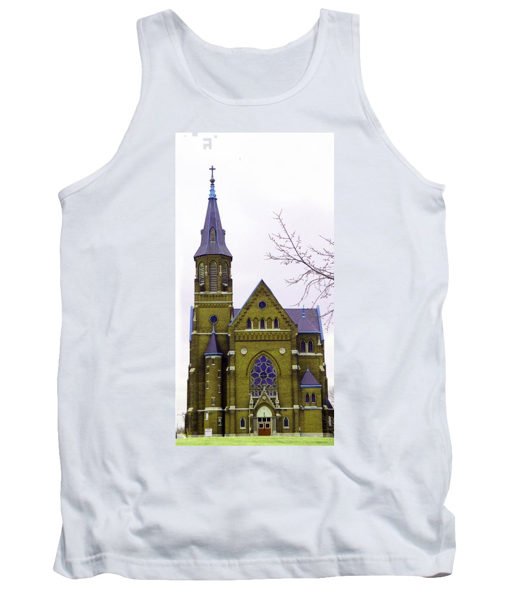 Spire Tank Top featuring the photograph Spire by Albert Stewart