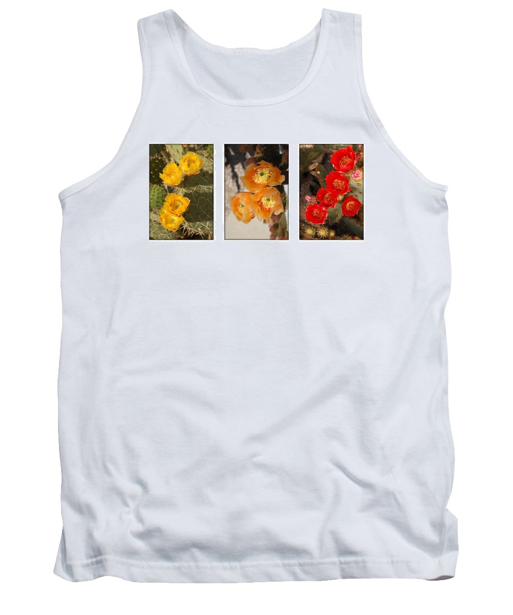Arizona Tank Top featuring the photograph Spring - Desert Style by Jill Reger
