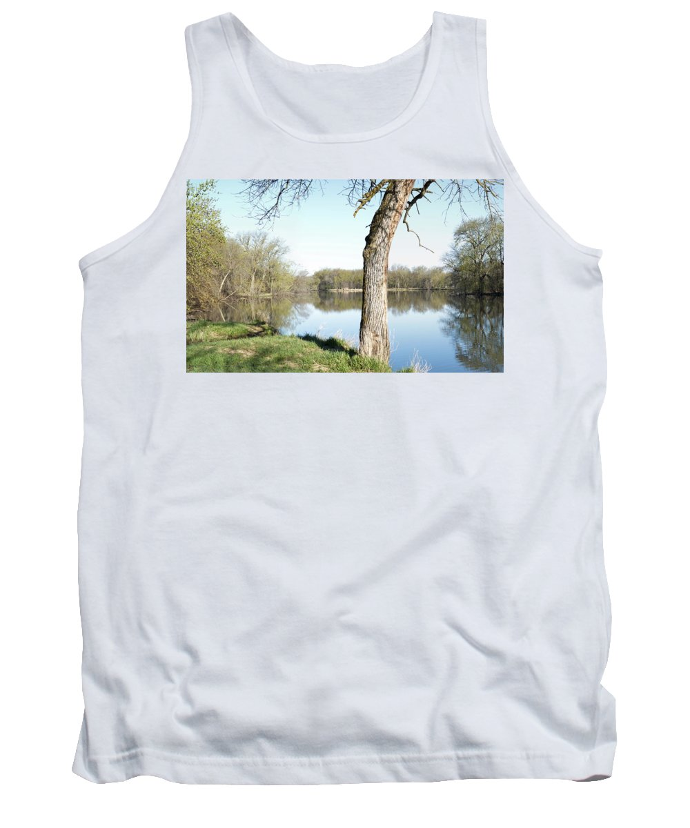 Lake Tank Top featuring the photograph Spring At Considine by Bonfire Photography