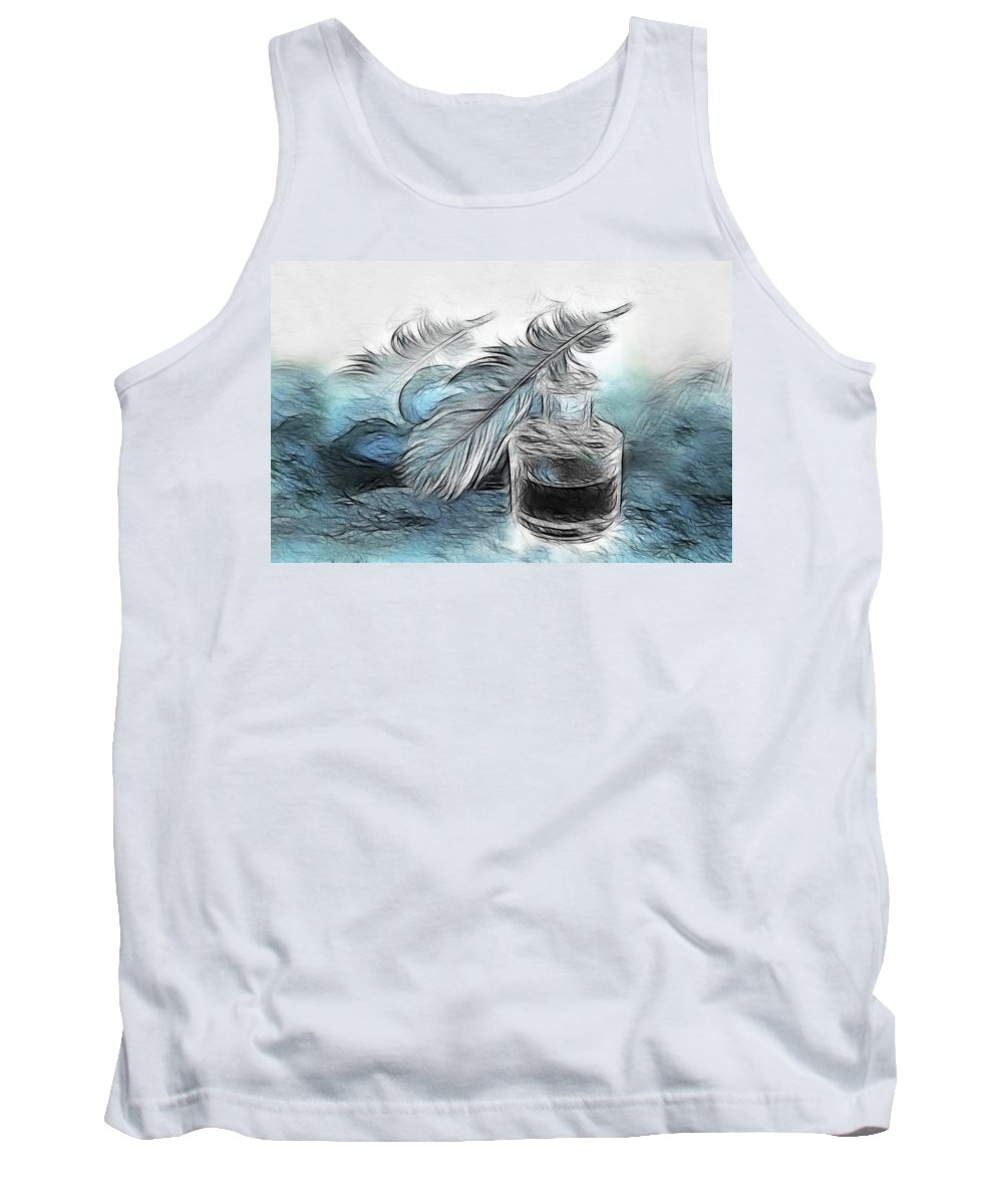 Spring Tank Top featuring the photograph Spring by Manfred Lutzius