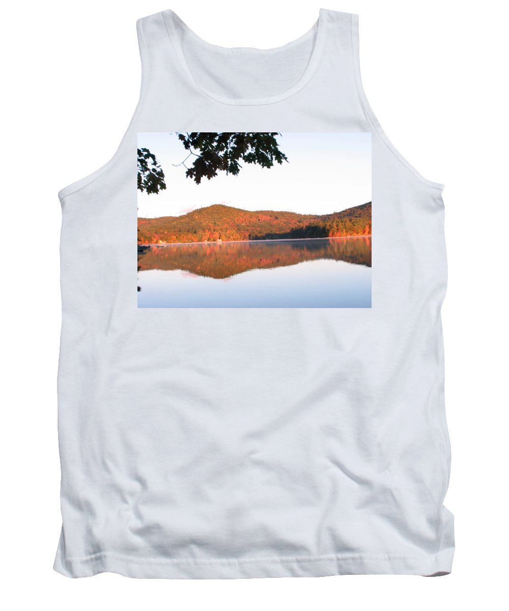 Squam Lake Tank Top featuring the photograph Squam Lake 2 by Michael Mooney