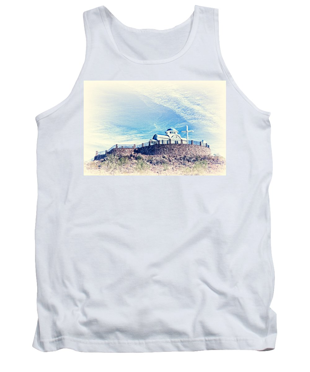 Florence Tank Top featuring the photograph St. Elijah Chapel IIi by Matt Suess