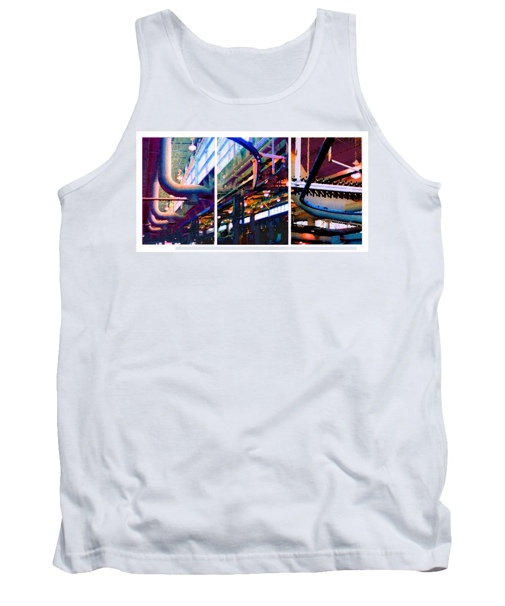 Abstract Tank Top featuring the photograph Star factory by Steve Karol