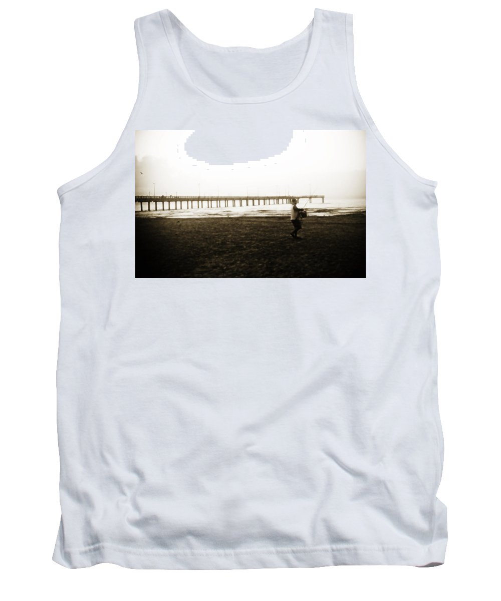 Fish Tank Top featuring the photograph Starting Early by Marilyn Hunt