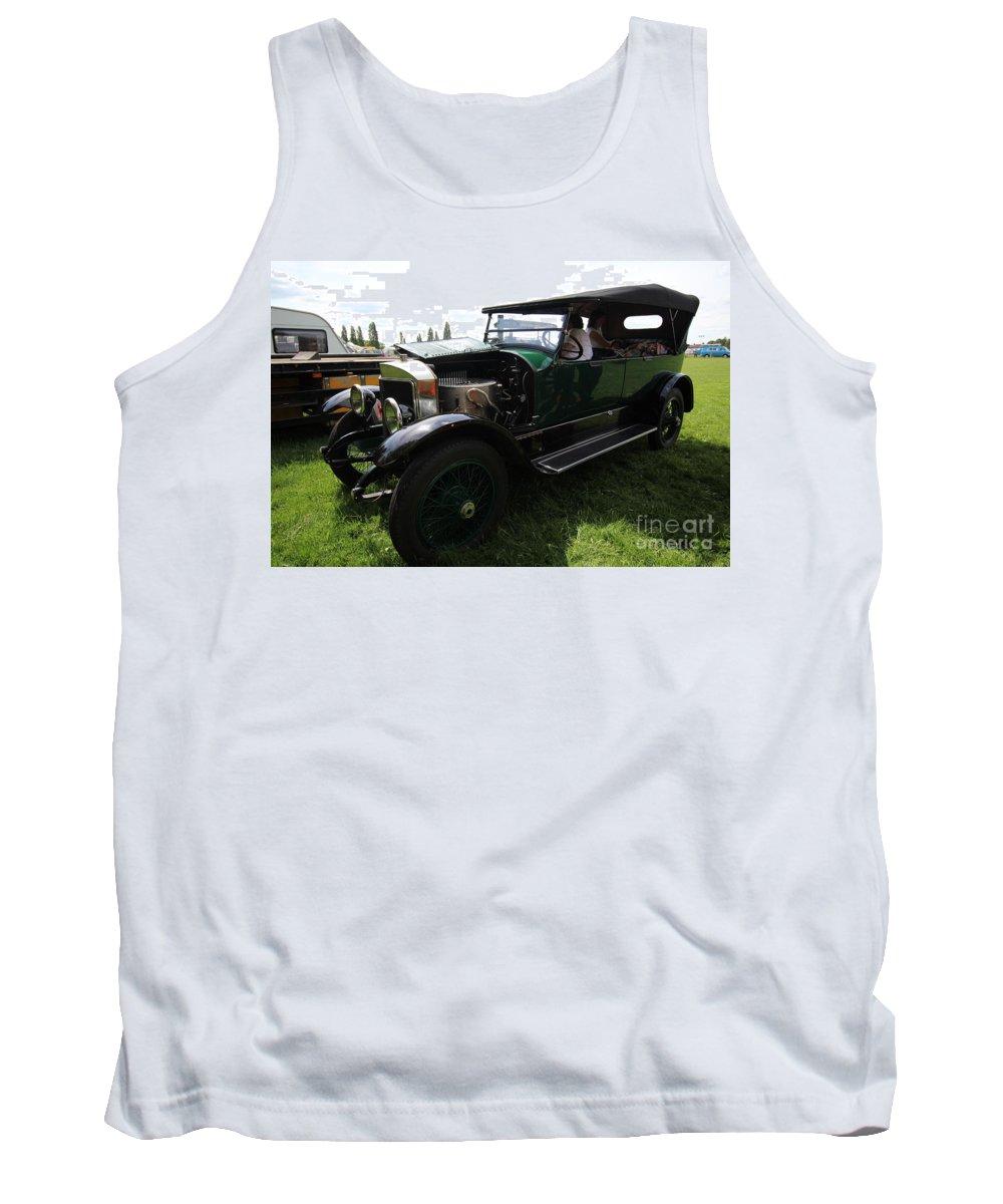 Tank Top featuring the photograph Steam Car by John Bailey Photos