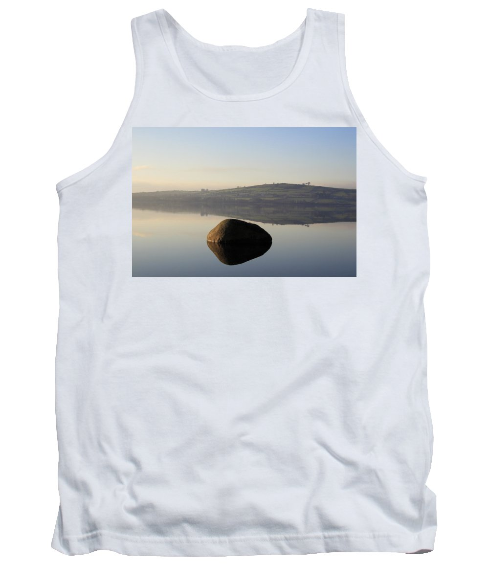 Landscape Tank Top featuring the photograph Stone Egg by Phil Crean