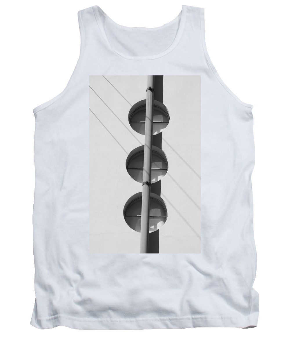 Architecture Tank Top featuring the photograph Stop Yield And Go by Rob Hans