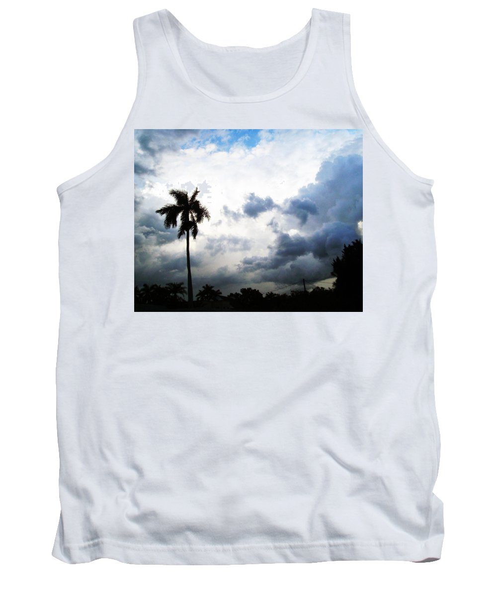 Florida Tank Top featuring the photograph Storm Brewing by Chris Andruskiewicz