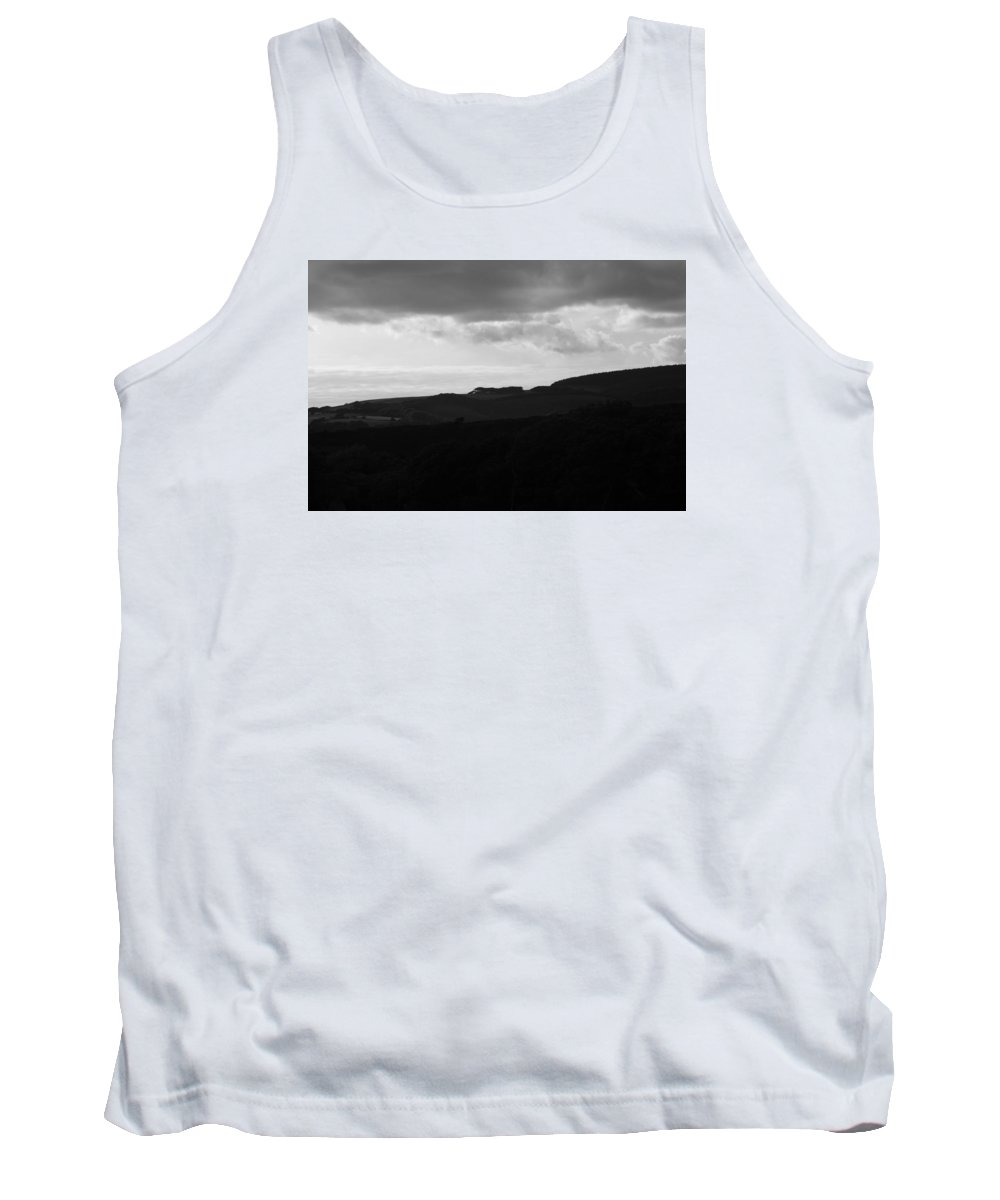 Non_city Tank Top featuring the photograph Storm Brewing by Frances Lewis