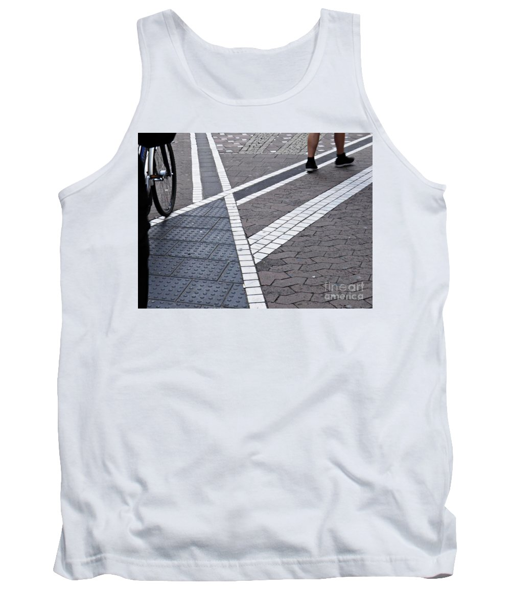 Street Tank Top featuring the photograph Streets Of Mainz 1 by Sarah Loft