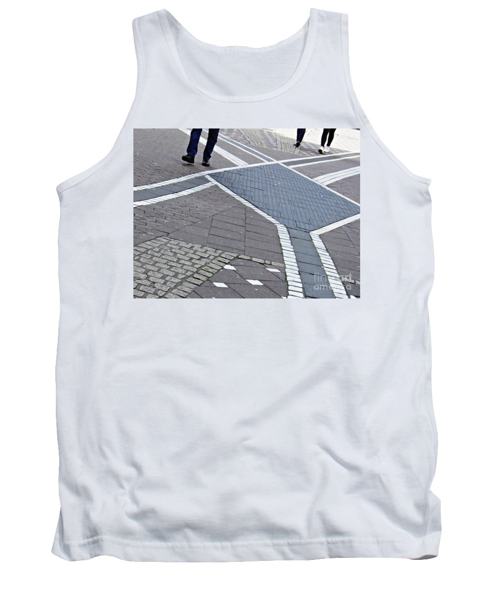 Street Tank Top featuring the photograph Streets Of Mainz 2 by Sarah Loft