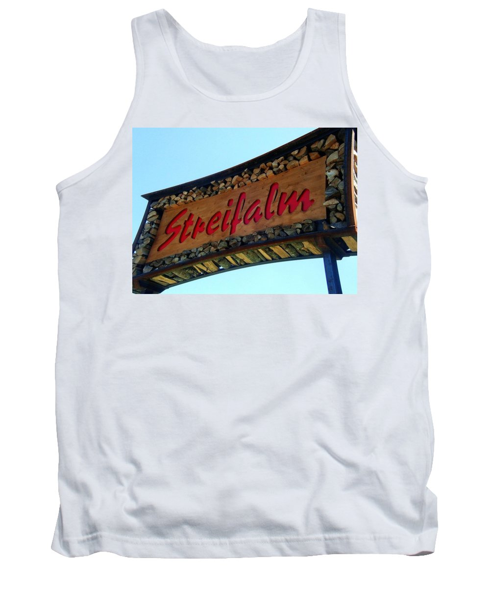 Europe Tank Top featuring the photograph Streifalm by Juergen Weiss