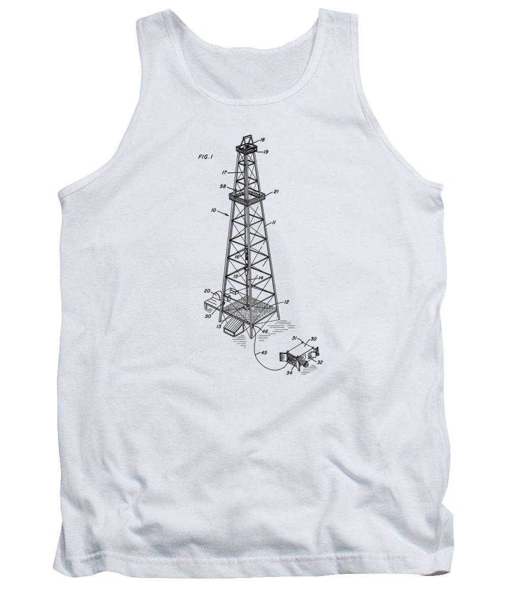 Oil Drawings Tank Tops